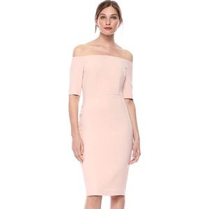 Stunning Evening Off the shoulder sheath dress